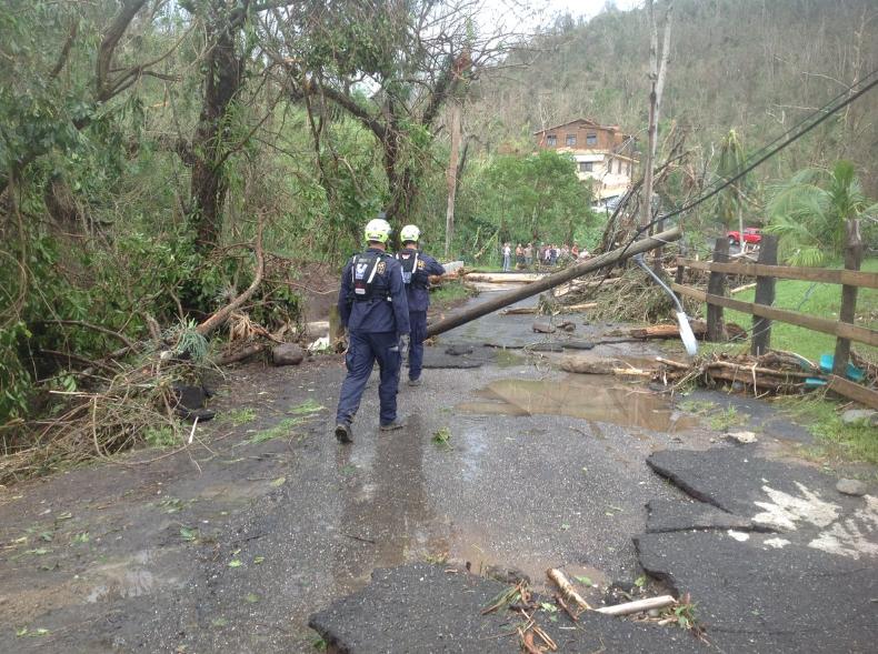 Hurricame Maria Responsed, FEMA photo