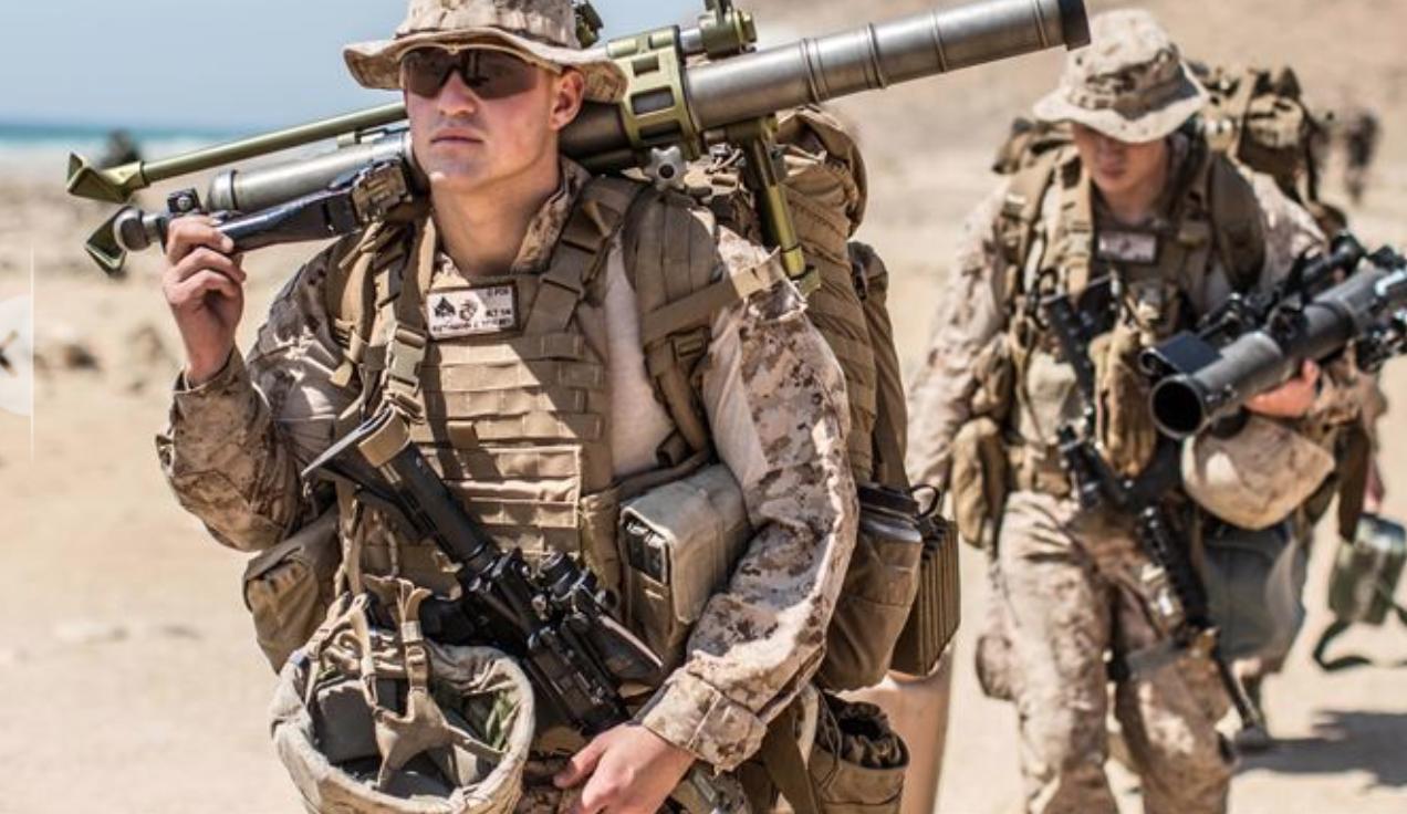 U.S. Marines on exercise